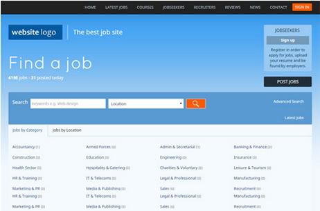 Jobs Portal script