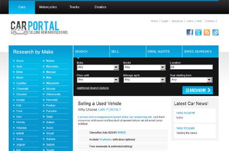 Car Portal - Autos hot php scripts