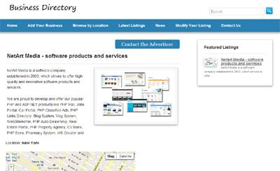 Responsive & SEO optimized business directory php script php script